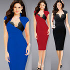 Womens Hot Sexy Built in Bra Ruched Party Cocktail Clubwear Bodycon Dress 1167