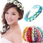 New Arrival Boho Style Rose Floral Flower Women Hairband Headband Party Wedding