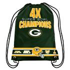 NFL Football Team Super Bowl Commemorative Drawstring Backpack - Pick Your Team!