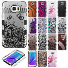 For Samsung Galaxy Note 5 IMPACT TUFF HYBRID Protector Case Skin Cover Accessory
