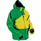 HMK Hustler 2 Green Yellow Mens Snowmobile Riding Jacket