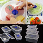 Clip Lock Storage Containers, Lunchbox,Sandwich, Food Fresh, Plastic Clear Tubs