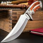 "10"" Ridge Runner Wood Hunting Survival Fixed Blade Full Tang Knife Bowie"