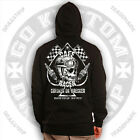 Dragstrip Clothing Checker Wrecker Cafe Racer Hooded Top Ace Cafe ace of spades $47.86 USD on eBay