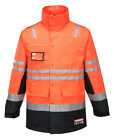 Huski Jacket Fire Hi Vis Flame Retardant Anti-static Long Line Jacket ( 918000)