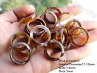 Wholesale Random send Brown Agate Ring , Chinese Natural stone Jewelry