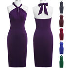 CHEAP New Vintage 50s Pencil Wiggle Bodycon Party Evening Midi Dress