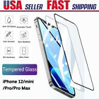 iPhone X/8/7/ 6S Plus Tempered Glass Screen Protector Shockproof Cover Slim Film