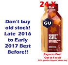 GU Energy Gel MAPLE BACON 24 pk Carb supplement