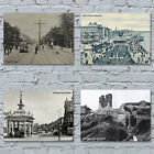 Vintage Postcard Art Canvas Prints 2 - Hull Beverley Bridlington Filey Hornsea