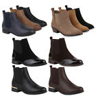 Damen Stiefeletten Chelsea Boots London Style Schuhe 77911 New Look