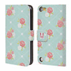 Head Case Designs French Country Patterns Leather Book Case For Apple Ipod Touch