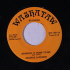 GEORGE JACKSON: Times Are Tough / Bringin' It Home To Me 45 (Modern Soul) Soul