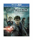 Harry Potter & Deathly Hallows Part 2 Blu-ray 3D