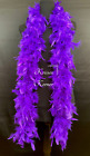 6 Foot Long Feather Boas 23 colors Costumes, Fun Dress Up Parties best price
