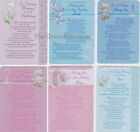 Plastic Weatherproof Grave Memorial Remembrance Tribute Card Various Designs