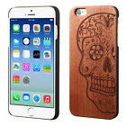 For Apple iPhone 6 4.7 Hard Wood Back Protector Slim Phone Case Snap On Cover