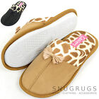 Ladies / Womens Animal Print Style Slippers / Mules