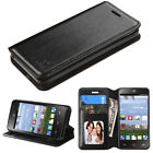 For Paragon Z753G Premium Wallet Case Pouch Flap STAND Phone Cover +Screen Guard