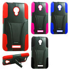 For Alcatel OneTouch Elevate Advanced Layer HYBRID KICK STAND Case Phone Cover