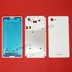New White Full Housing Cover Case For Sony Xperia E3 Dual D2203/02 D2206