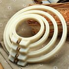 ABS Plastic Embroidery Cross Stitch Hoop Ring 7/9/12/15cm Sewing Craft DIY Tools