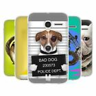 HEAD CASE FUNNY ANIMALS SOFT GEL CASE FOR ALCATEL PIXI 3 3.5