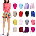 Womens Winter Office Cashmere Cardigan Ladies Wool Jumper Casual Sweater Size