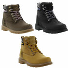 New Caterpillar Willow Womens Wide Fit Leather Cat Ankle Boots Size UK 6-8