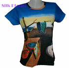 SALVADOR DALI the Persistence of Memory Melting Clock FINE ART PRINT T SHIRT