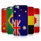 HEAD CASE VINTAGE FLAGS SET 1 SOFT GEL CASE FOR APPLE iPHONE 6S