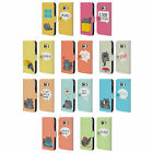 HEAD CASE DESIGNS WILBUR THE CAT LEATHER BOOK WALLET CASE FOR SAMSUNG PHONES 1