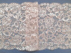 """Laces Galore"" ~ Dusky Pink  Wide Flower Lace 6.75""/17 cm Bride/Wedding/Craft"