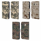 HEAD CASE DESIGNS MILITARY CAMO 2 LEATHER BOOK WALLET CASE FOR SAMSUNG PHONES 1