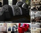 Luxury Quilt Duvet Cover & Pillowcase Bed Sets Bedding 4 Sizes New