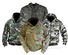 ADULTS FULL ZIP DPM CAMO CAMOUFLAGE HOODIE ARMY HOODY FISHING HUNTING