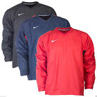 Nike Men's Rugby Training Drill Top Red Black & Navy Sweatshirt Outdoor Running