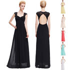 New Long Chiffon Bridesmaid Dresses Evening Prom Gown Wedding Party Graduation