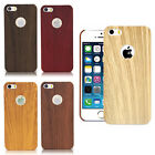 Ultra-thin Imitation Wood Pattern Hard Plastic Cover Case For iPhone5 6 6plus EW