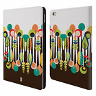 HEAD CASE DESIGNS UPSIDE DOWN LEATHER BOOK WALLET CASE COVER FOR APPLE iPAD