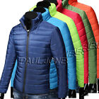 New Mens Thick WINTER JACKET Stand Collar Down Coats Lightweight Outwear Jackets