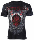 XTREME COUTURE by AFFLICTION Mens T-Shirt ROYAL FAMILY Tattoo Biker MMA $40 image