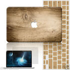 "Wooden Skin Painted Hard Laptop Case Cover For Macbook Pro Air 11""13""15""Retina12"