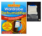 Hanging Interior Wardrobe DEHUMIDIFIER Clothes Damp Mould Moisture Stop Trap Bag