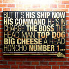 AIRPLANE FILM Canvas Wall Art Print - Quotes Funny Comedy Classic Boss Hall Home