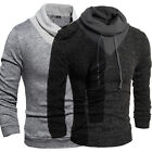 Fashion Mens Long Sleeve Dress Knitwear Jumpers  tops Shirts Sweater Pullover
