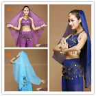 1PC Belly Dance Accessories Dancing Chiffon Headdress + scarf  6 Colors Costume
