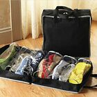 Ventilation Folding Shoes Storage Organizer Portable Carry Bags Travel Sport Gym