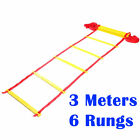Agility Ladder Speed Sports Training 3M 6 Rungs Soccer Fitness Boxing Football