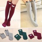 Children Girl Cartoon Animal Pattern Thigh Stockings Over Knee High Socks Gift